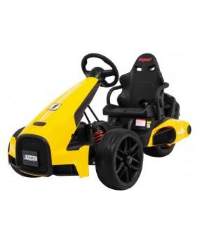 Elektrická motokára Bolid XR-1 žltá